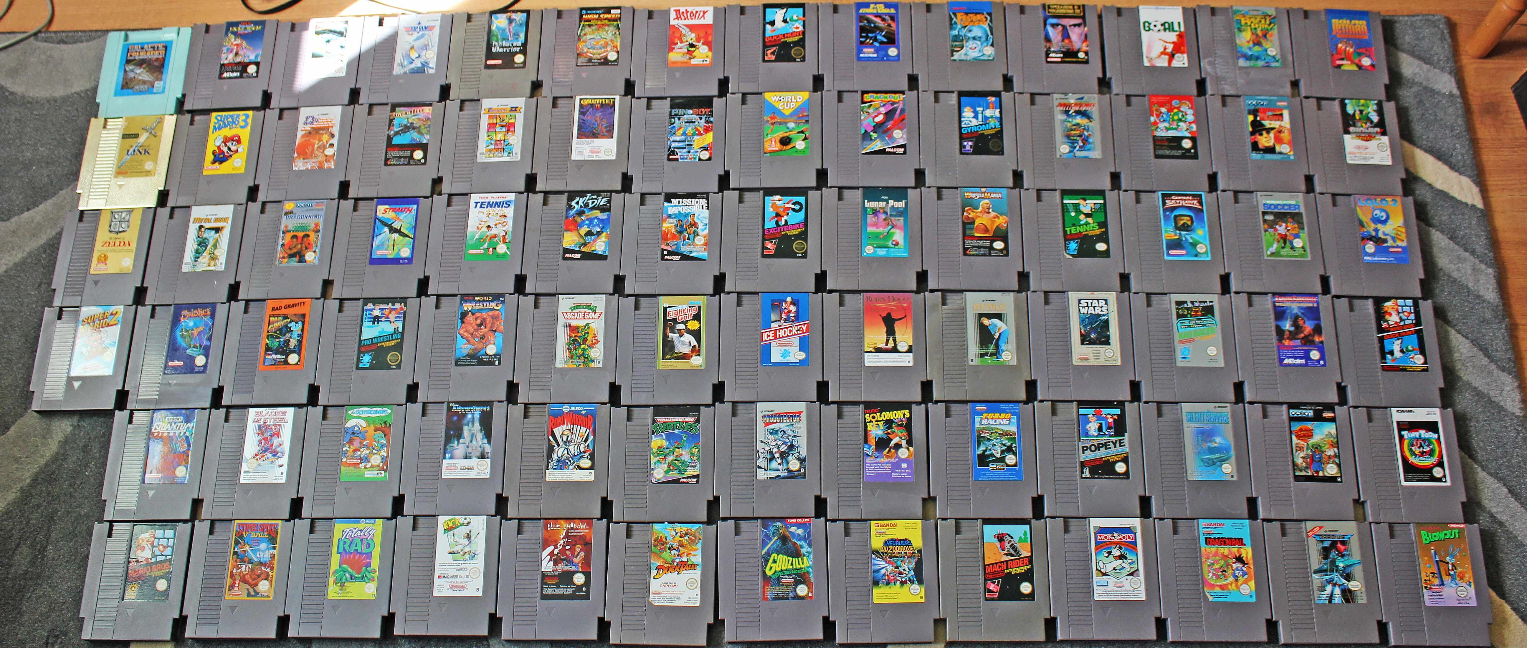 Nintendo NES : 104 jeux